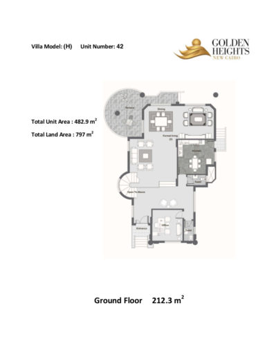 Model H – Unit 42 – Stand Alone Villa